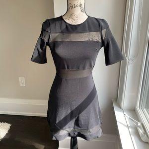 Top shop mesh skater dress